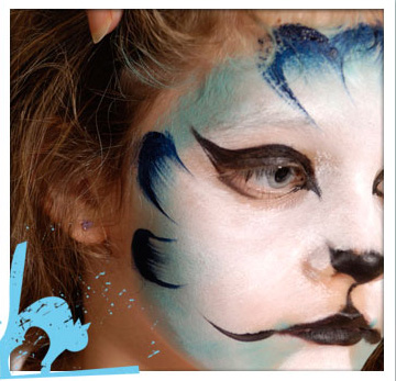 Maquillaje de Gato paso a paso 6