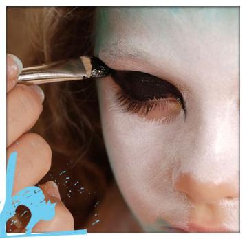 Maquillaje de Gato paso a paso 4