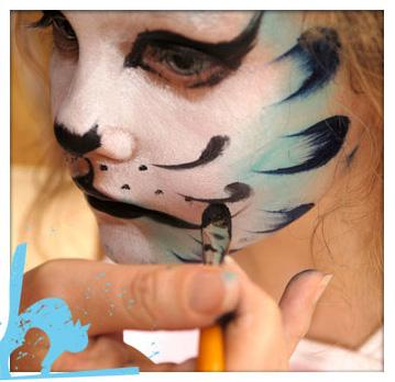 Maquillaje de Gato paso a paso 7