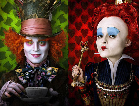 Alicia en el País de las Maravillas, la nueva película de Tim Burton 2