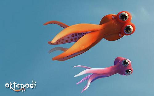 Oktapodi, un corto animado de cine infantil 1