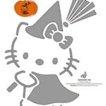 Calabaza Halloween Hello Kitty