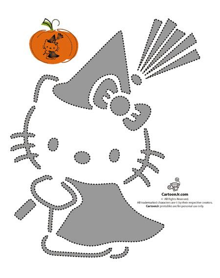 Calabazas de Halloween, ¡decóralas con Hello Kitty! | Pequeocio.com