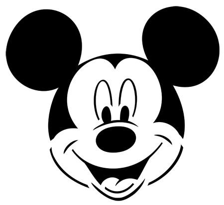 Imagenes de caritas de Mickey Mouse para colorear - Imagui