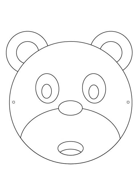 Caretas infantiles de animales gratis 2