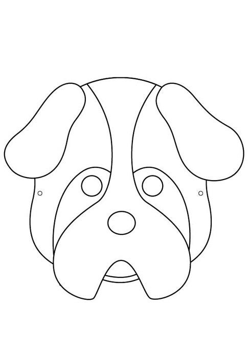 Mascaras de perros para niños - Imagui