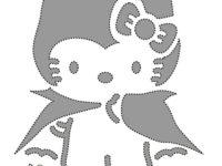 Calabazas de Halloween, ¡decóralas con Hello Kitty! 1