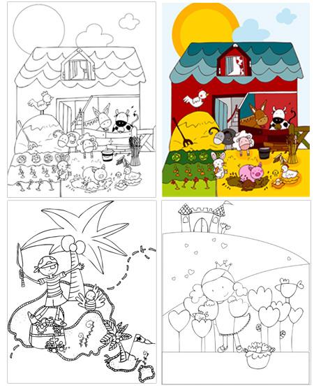 Dibujos para colorear XuxuLanstrum