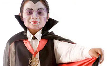 Maquillaje de Halloween Vampiro