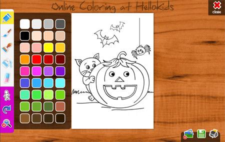 Dibujos de calabazas de Halloween | Pequeocio.com