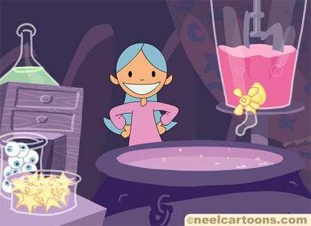 Juegos de Halloween de brujas