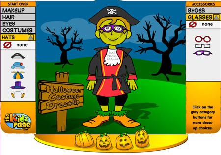 Juegos de disfraces de Halloween