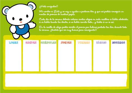 Cómo hacer un cuadro de incentivos para los niños 2