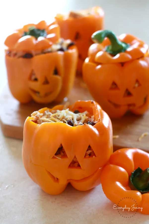 receta facil halloween