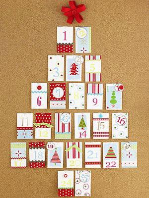 Tarjetas de Navidad árbol