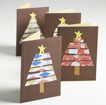 7 postales de navidad f ciles de hacer pequeocio - Tarjeta de navidad manualidades ...