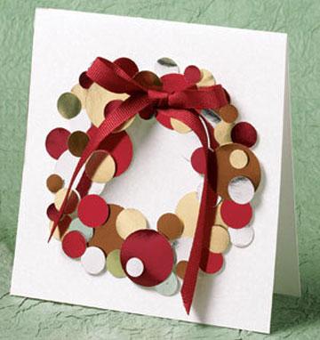 7 postales de navidad f ciles de hacer pequeocio - Tarjetas de navidad faciles ...