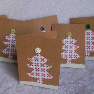 La Quinta Maravilla Tarjetas de navidad fciles