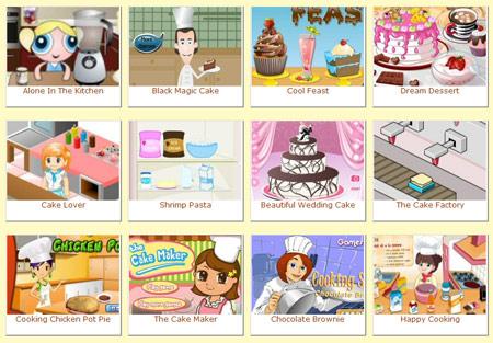 Juegos de cocinar pasteles