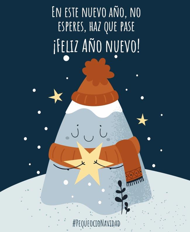 postales de Navidad año nuevo
