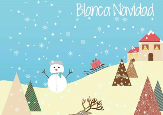 villancico blanca navidad