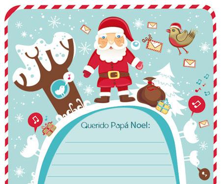 Carta A Papa Noel Para Imprimir Pequeociocom - Papa-noel-para-imprimir