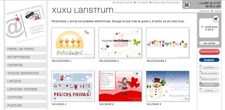 Felicitaciones de Navidad virtuales