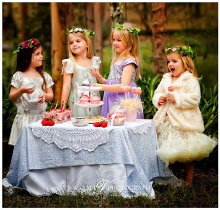 Fiesta infantil de niñas