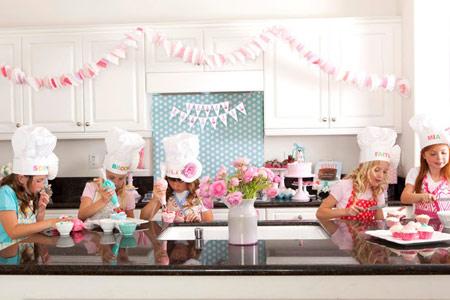 Jugar a cocinar fiesta infantil