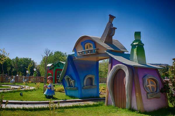 Parque Europa atracciones infantiles