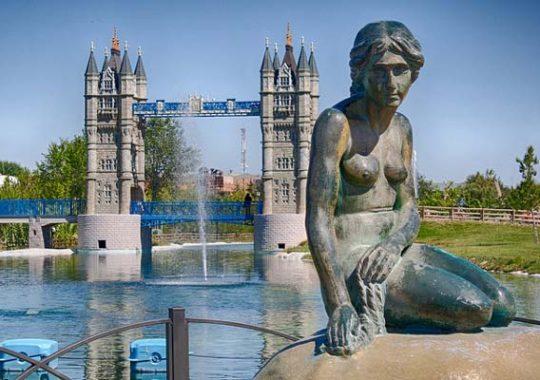 Parque Europa en Madrid