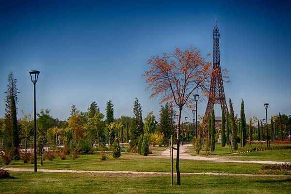 parque europa monumentos