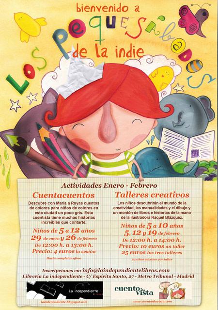 Cuentacuentos y talleres infantiles en pleno corazón de Madrid. 1