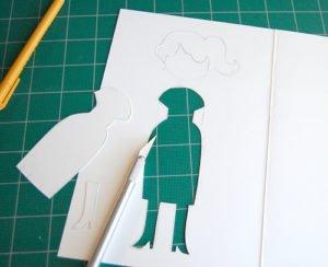 Muñeca de papel - DIY