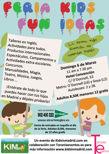 Feria Kids Fun Ideas