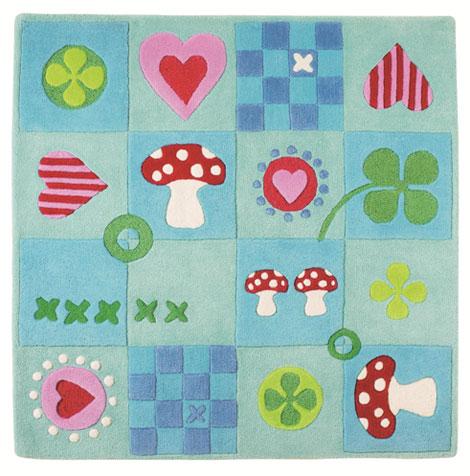 Decorar con alfombras infantiles pequeocio - Alfombras antiacaros ninos ...