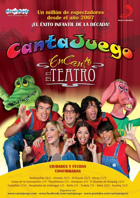 Cantajuego teatro 2011