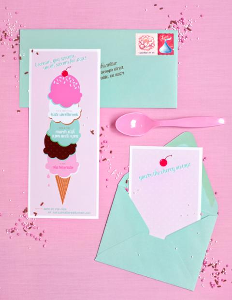 fiesta helado_invitaciones