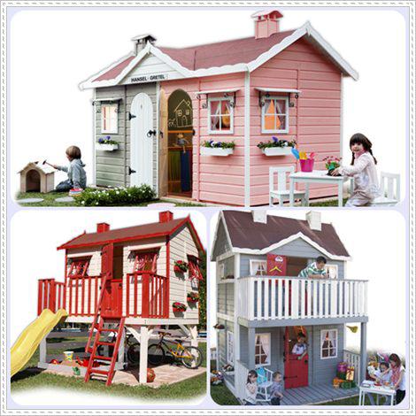 Casitas de madera infantiles green house pequeocio for Casitas infantiles para jardin