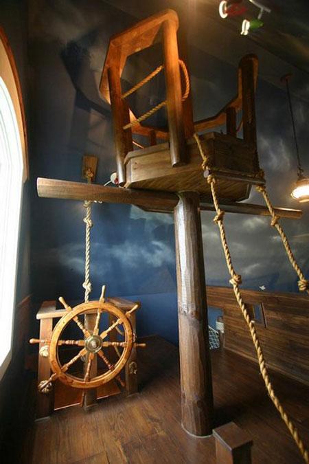 Habitación infantil barco