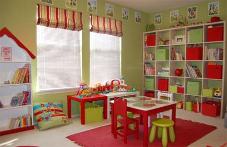Cómo organizar el cuarto de juegos infantil | Pequeocio.com