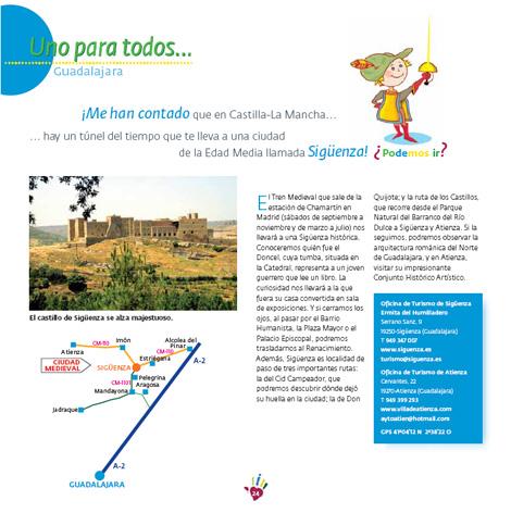 Rutas Castilla la Mancha niños