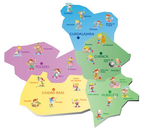 Rutas con niños por Castilla la Mancha