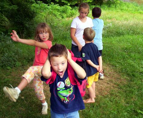 Campamentos de niños para aprender inglés