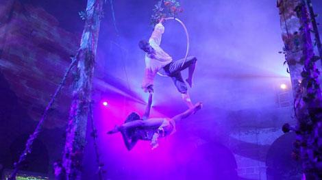 Circo para niños y grandes en Olmedo