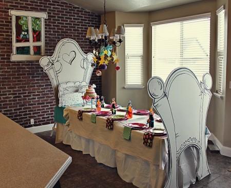 Decoración mesa fiesta infantil
