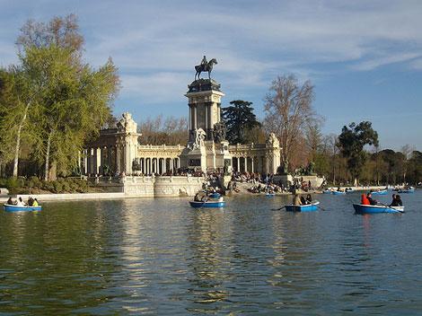Excursión con niños en Madrid