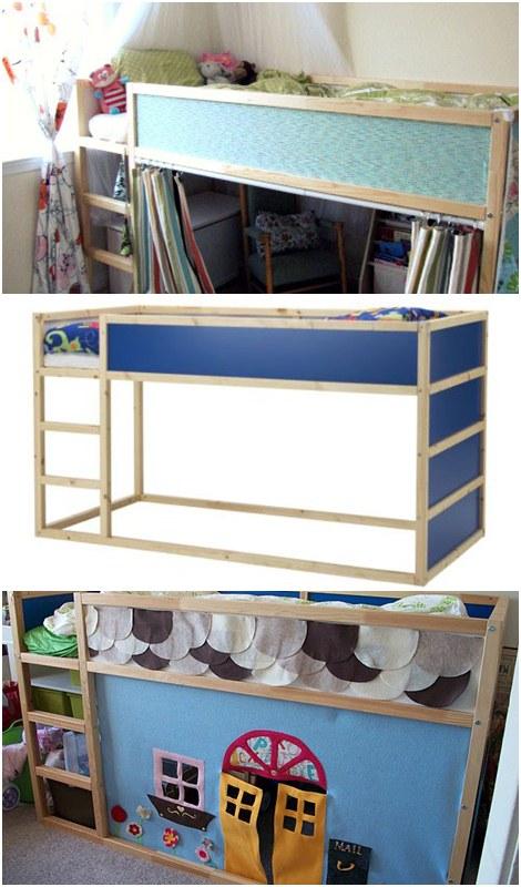 C mo personalizar una cama infantil de ikea - Cama ikea infantil ...