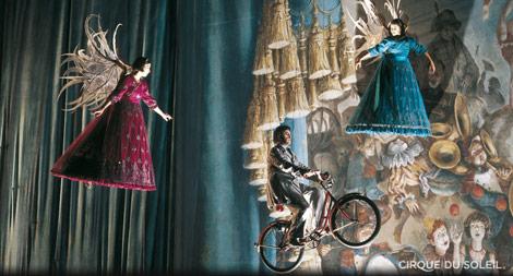 Corteo espectáculo Cirque du Soleil