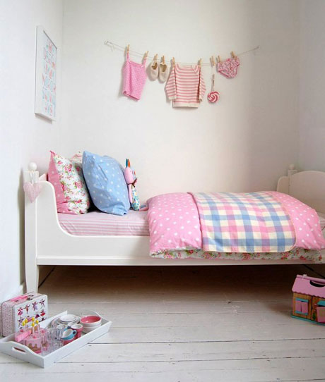 10 ideas f ciles para decorar habitaciones infantiles for Decoracion habitacion infantil pequena